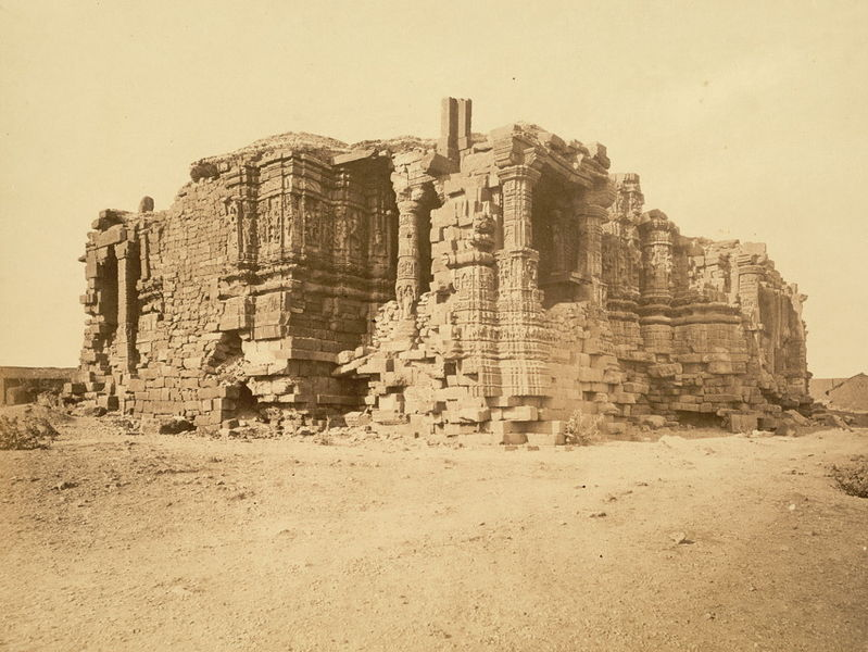 Ruined Somanth Tample