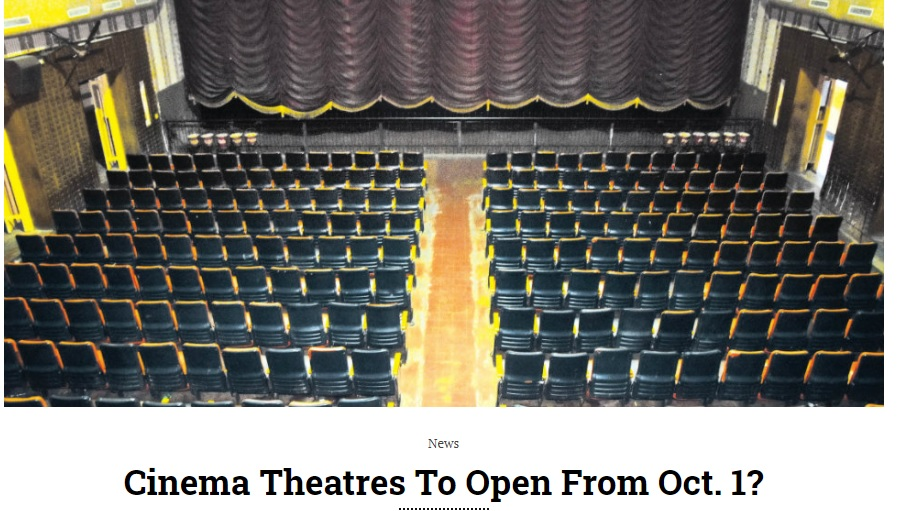 Theatre Reopening News in Covid 19