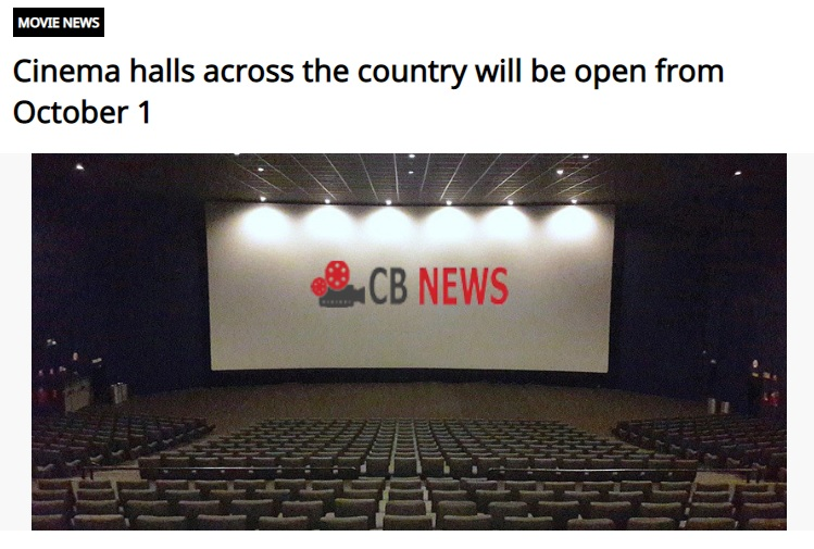 Dailyhunt News on Theatre Opening