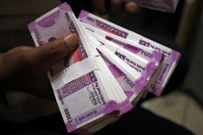 rupees 2000 note