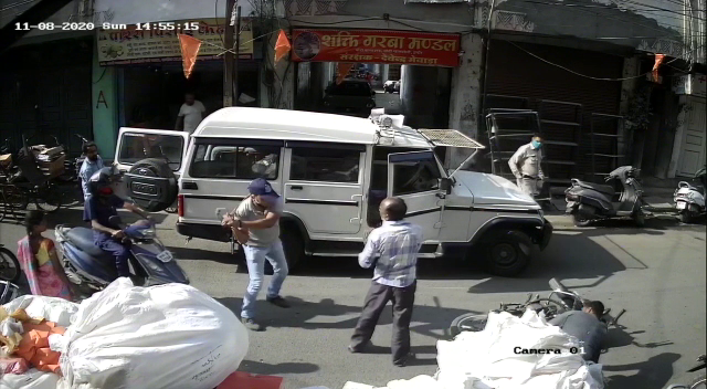 Indore Police Viral Video